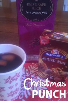 Recipe for Christmas Punch (Non Alcoholic Mulled Wine)