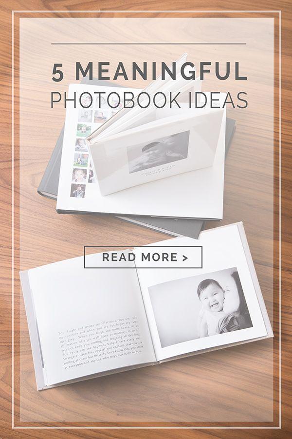 Ideeën voor fotoalbums en plakboeken