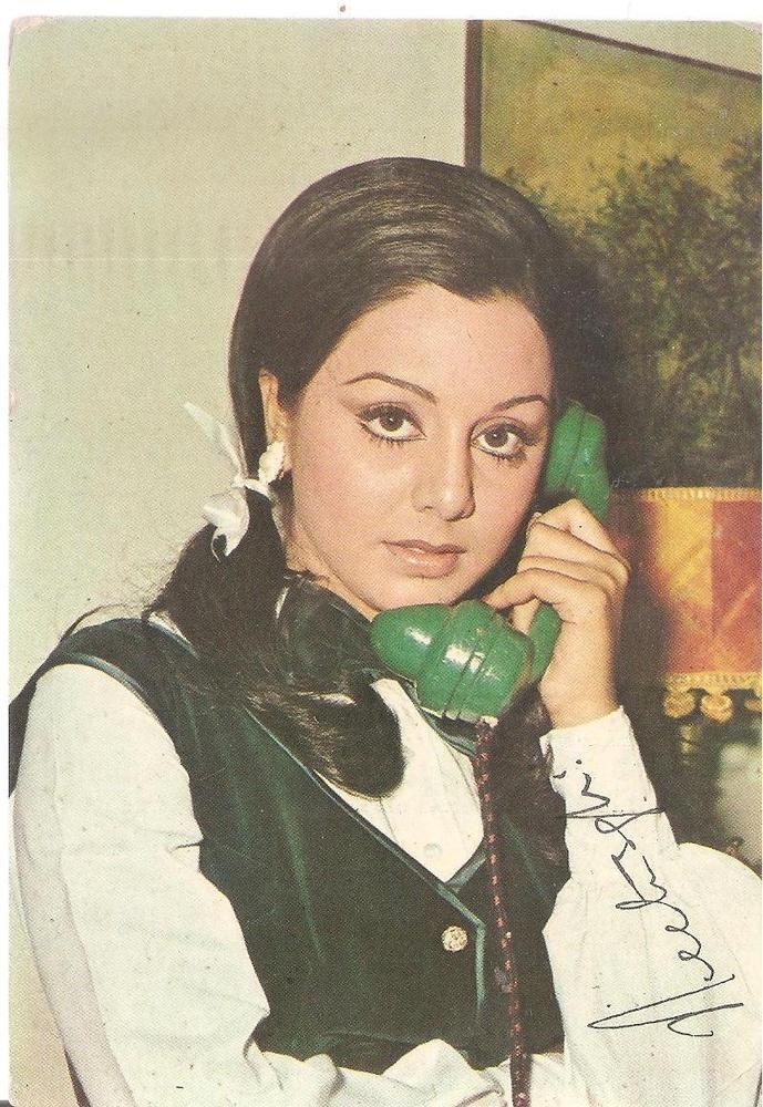 SIGNED FILMY BOLLYWOOD Memorabilia ppc HOT ACTRESS NEETU SINGH wife Rishi Kapor