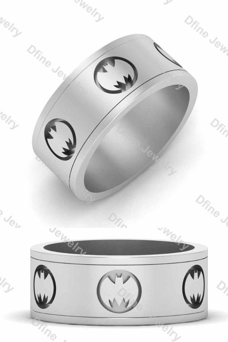 Batman Wedding Band Mens Dfine Jewelry Store Mens Wedding Bands Batman Wedding Wedding Bands