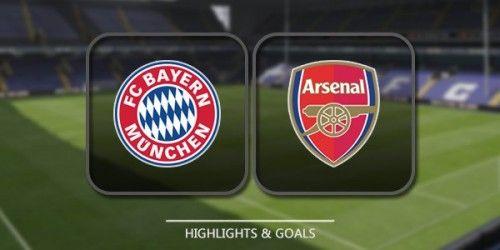 SOCCER TYPE: Bayern Munich vs Arsenal (1 - 1) - PEN' [2 - 3] FT...