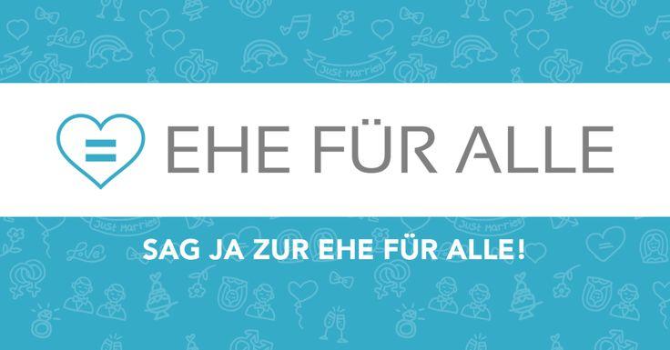 Ergreife die einmalige Gelegenheit und teile Dein Ja für die EHE FÜR ALLE den Abgeordneten im Bundestag mit. Mit Dir werden wir die Abstimmung über die Öffnung der Ehe für gleichgeschlechtliche Paare erreichen!