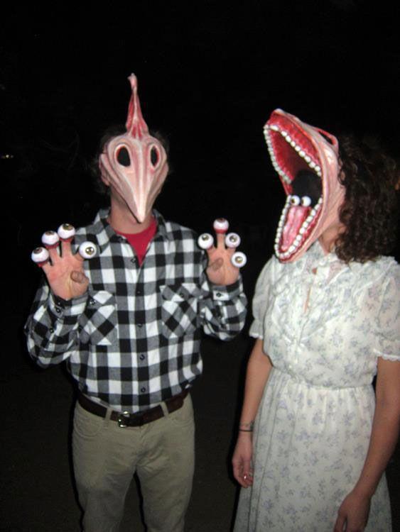 Creative Halloween Costume Ideas Funny couple halloween cost