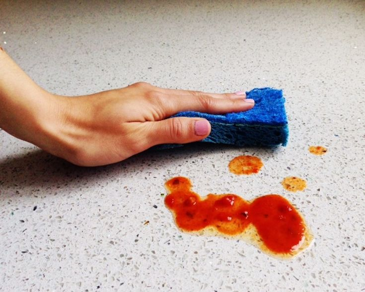 The Best Way to Clean Your Counters after You Cook