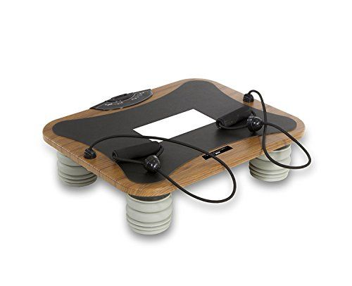 Tecnovita by BH Vibro Quick Pro YV14M vibration platform- oscillating platfrom -vibrating plate trainer- toning and strengthening - 75W engine