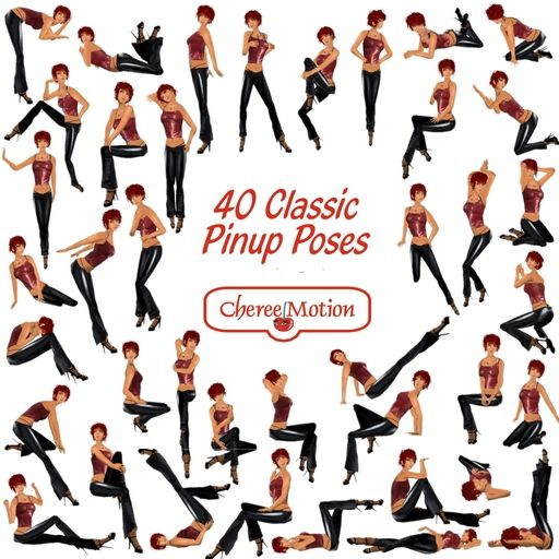 modern pin-up poses