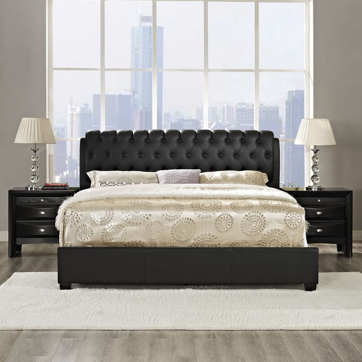 17 best ideas about black bedroom furniture on pinterest - Black queen bedroom furniture set ...