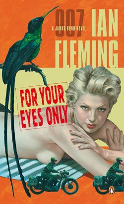 "Ian Fleming's ""For Your Eyes Only"", published in 1960, is a collection of five short stories. Though short, the stories add a lot of depth to the character of 007. Watchers of the 1981 Roger Moore flick of the same name will see that the writers took the plots of the second and fourth stories (""For Your Eyes Only"" and ""Risico"") and combined them to make Moore's film."