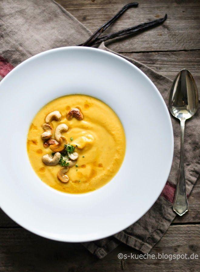 S-Küche: Süßkartoffel-Möhren-Vanillesüppchen und Wissenswertes über die Vanille