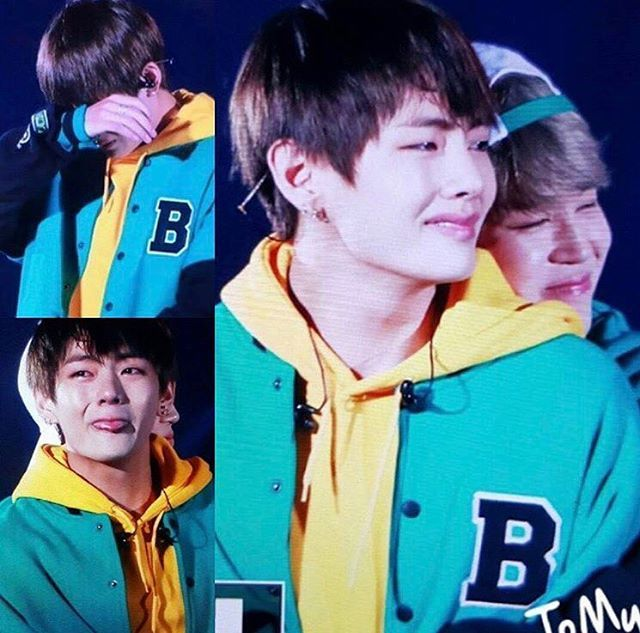 This isn't even fucking funny. Tae is the sweetest fucking grandson anyone could have hoped for and Jimin is such a caring little bean <3