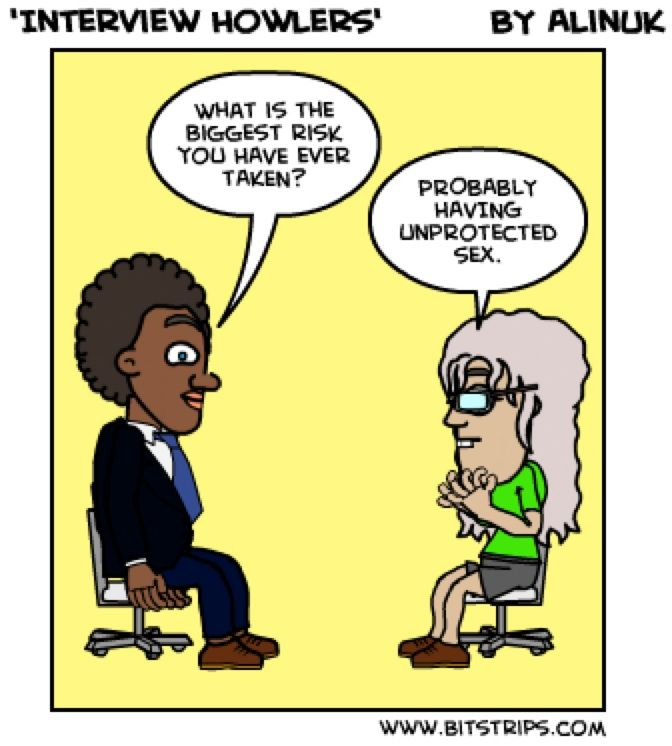 Hr Humour Interview Question Funny Hr Funnies