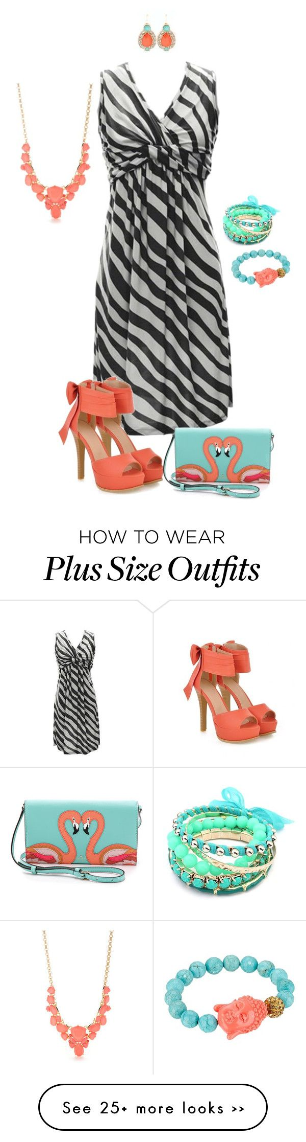 """""""Don't hide your shine- plus size"""" by gchamama on Polyvore"""