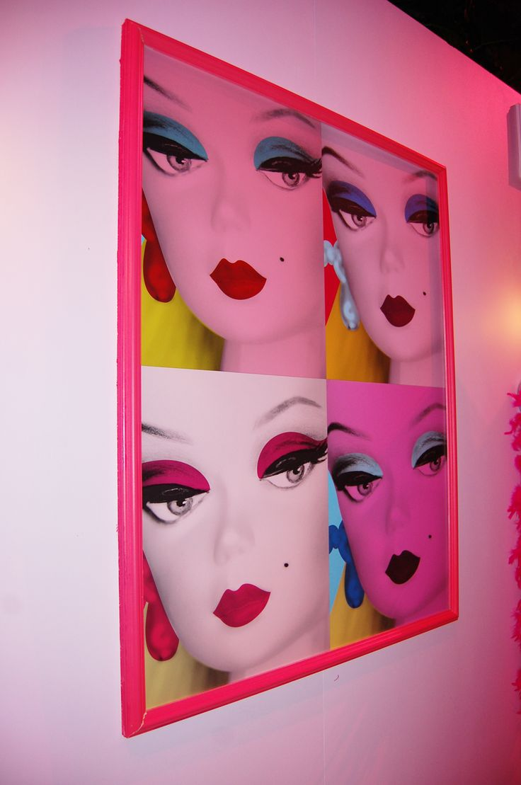 Barbie collage art