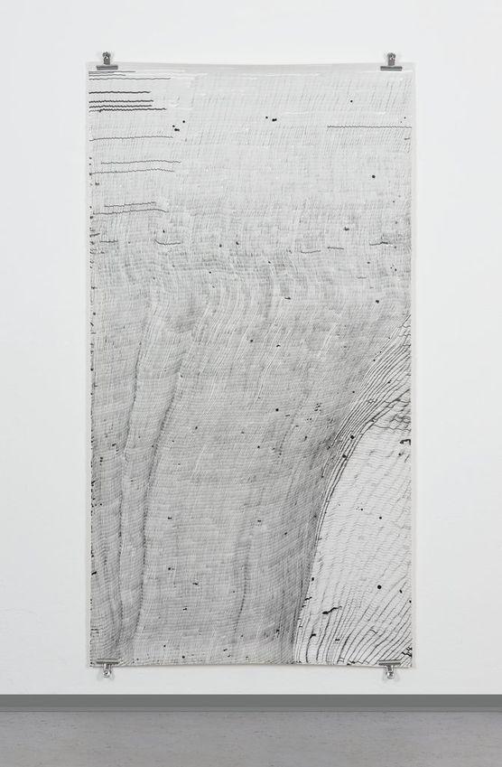 Sophie Tottie, Written Language (line drawings) XIII, 2009