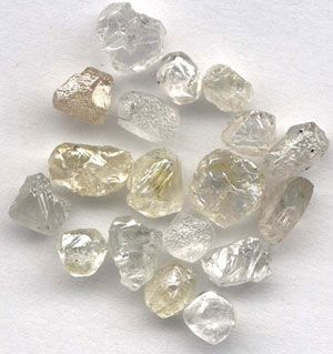 Rough Diamonds from Sierra Leone