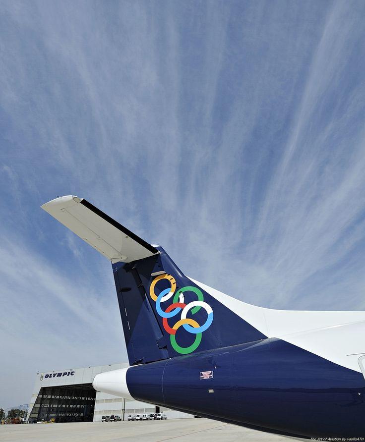 """Olympic Air ATR 42-600 ΟΨΕΙΣ - ΜΑΤΙΕΣ Κτήριο 57 Τεχνική Βάση Olympic Air.Athens International Airport """"Eleftherios Venizelos"""" ATH/LGAV"""