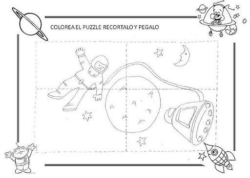 Actividades sobre el universo para niños de preescolar - Imagui