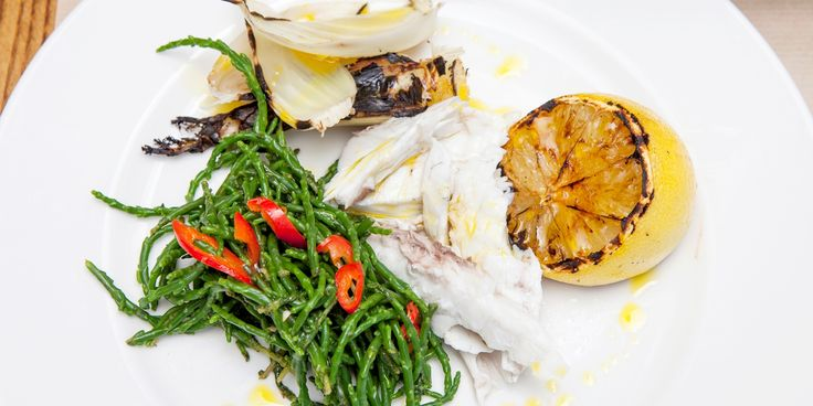 Adam Byatt stuffs black bream with lemongrass, star anise and dill before wrapping in a banana leaf and cooking on the barbecue - a perfectly…
