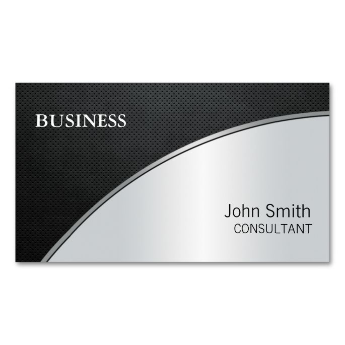 Best Silver Metallic Business Card Templates Images On - Make your own business cards template