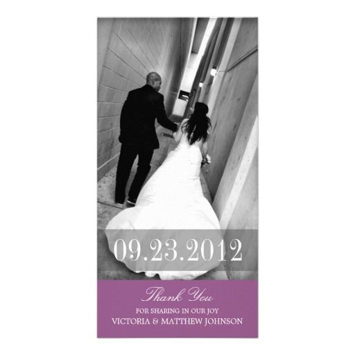217 Best Wedding Thank You Cards Images On Pinterest