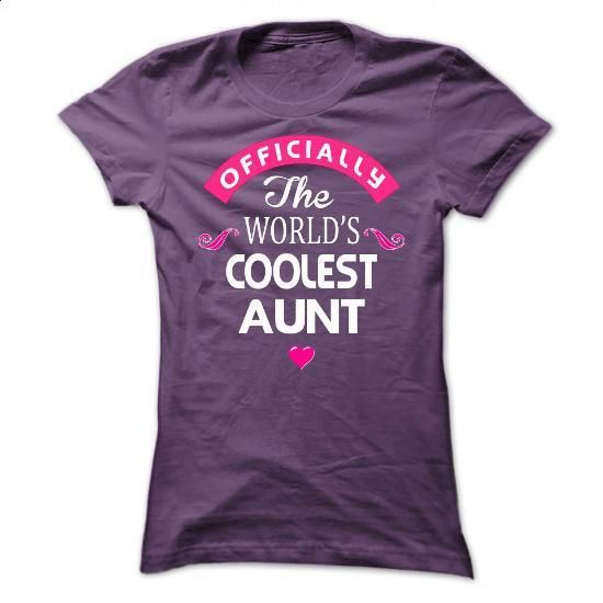 COOLEST Aunt - #men #striped shirt. ORDER HERE => https://www.sunfrog.com/Names/COOLEST-Aunt-Ladies.html?60505