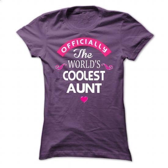 COOLEST Aunt - #men #striped shirt. ORDER HERE => https://www.sunfrog.com/Names/COOLEST-Aunt-Ladies.html?60505