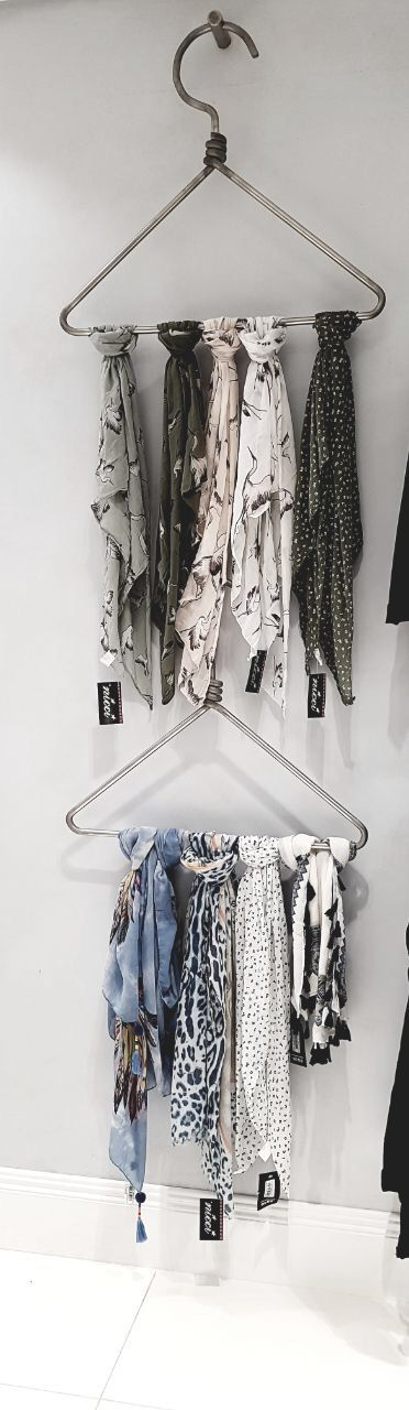 #Scarves add an instant update to you look #NicciSS17 #Hanger