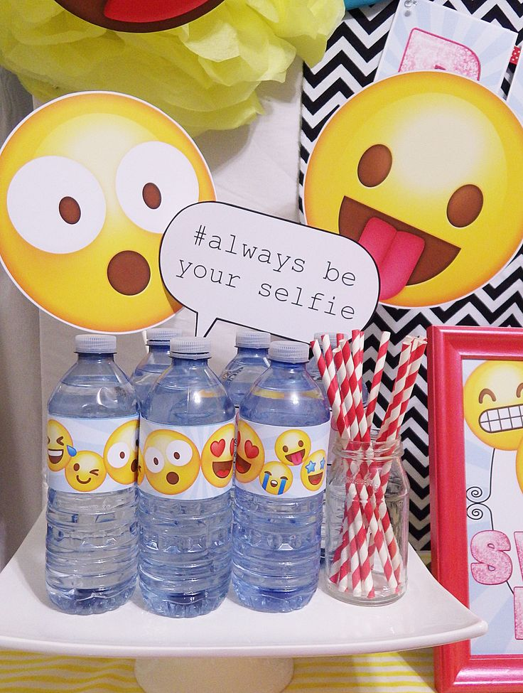 Emoji Party Ideas! Printables by Epic Parties by REVO www