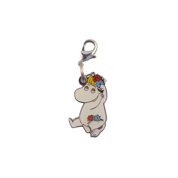 This lovely clip on Moomin charm will make a lovely gift for any occasion birthday, Christmas, anniversary or just to treat yourself. Comes with a lobster clasp. Size: approx 15 x 30mm