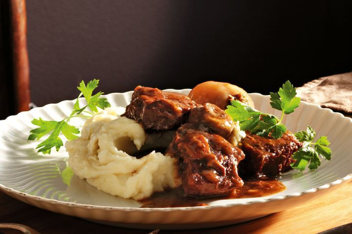 Rich beef and stout casserole