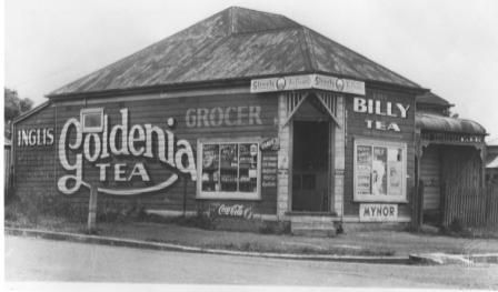 Local shop on the corner of Cumberland Road and Phillip Street 1948
