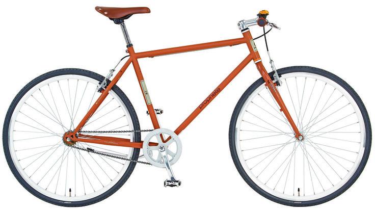 "Prophete Singlespeed-Bike 28"" Entdecker 2-S Herren Fahrrad Brau kaufen"