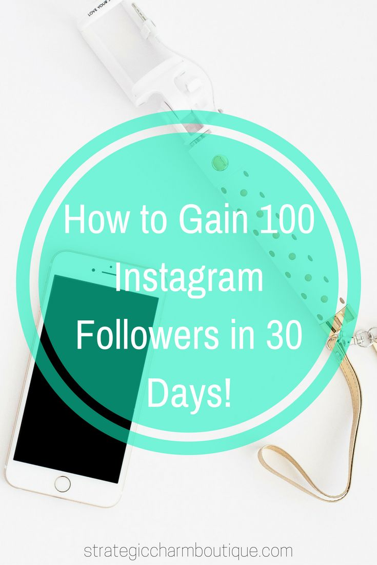 If you've been sitting at the same number of followers for the last week, month, or even a couple of months, click to follow these actionable steps and watch your audience grow by 100 followers in 30 days! #StrategicCharm #Instagram #InstagramMarketing #socialmedia #blog #blogger #blogging