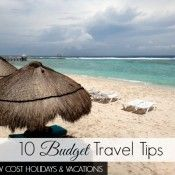 10 Budget Travel Tips for Low Cost Holidays and Vacations - Before I became a long term traveler, I would take advantage of cheap vacation deals and low cost holidays that I found online or through weekly travel discount newsletters. Having a full time job in the US, it wasn't easy (or even encouraged) to take vacation time so I always made the most of my vacation days by combining them with national holidays.