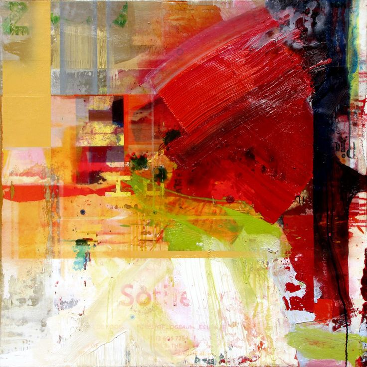 """Peter Vahlefeld; Painting, Assemblage / Collage """"Advertisement 2011"""""""