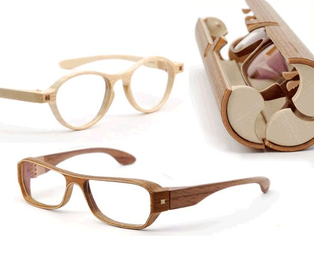 Handmade wooden glasses by Herrlicht. (Previously listed ...