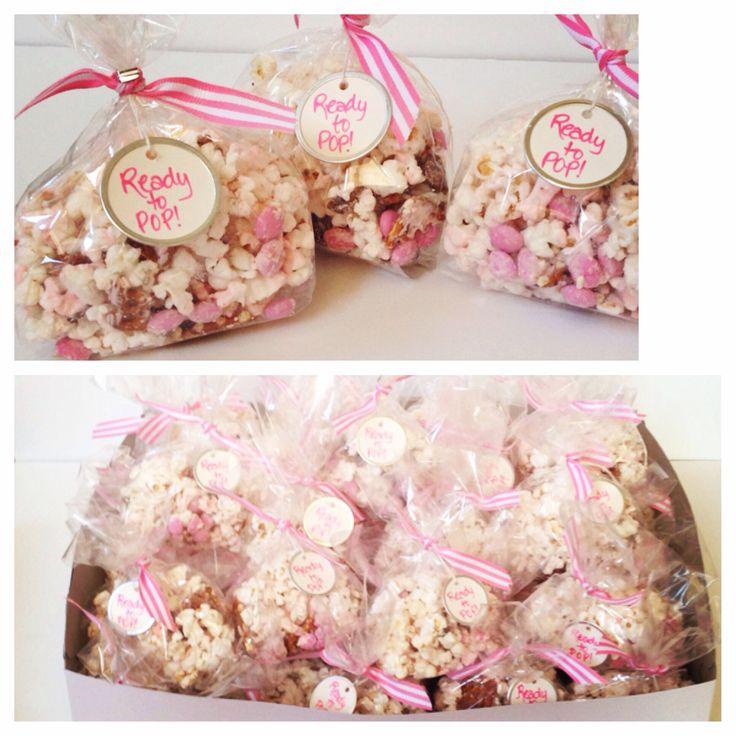 favor bags baby shower favors bridal shower favors popcorn