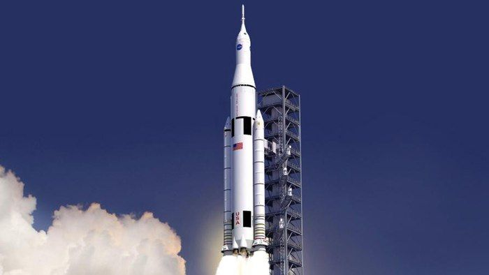 The Space Launch System (SLS) is designed to expand man's reach in the solar system (Image: ...