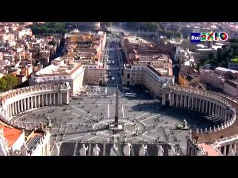 Saint Peter's square #youritaly #raiexpo #Lazio #italy  #expo2015 #experience #visit #discover #culture #food #history