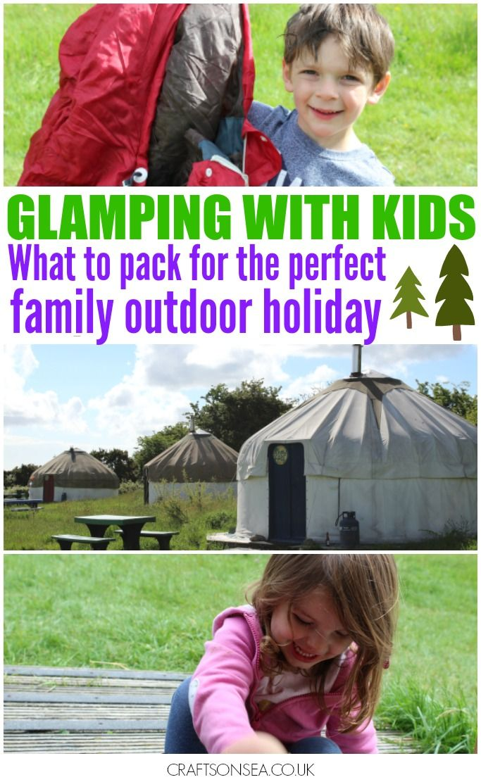 Going glamping? Find out our tried and tested guide to what to take glamping with kids. Essentials checklist perfect for glamping and camping holidays.