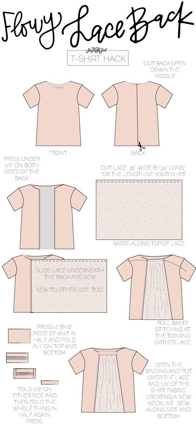 10 ways to refashion a t-shirt