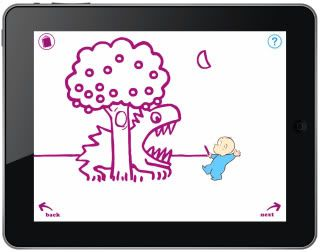 Coolest apps for preschoolers: Harold and the Purple Crayon