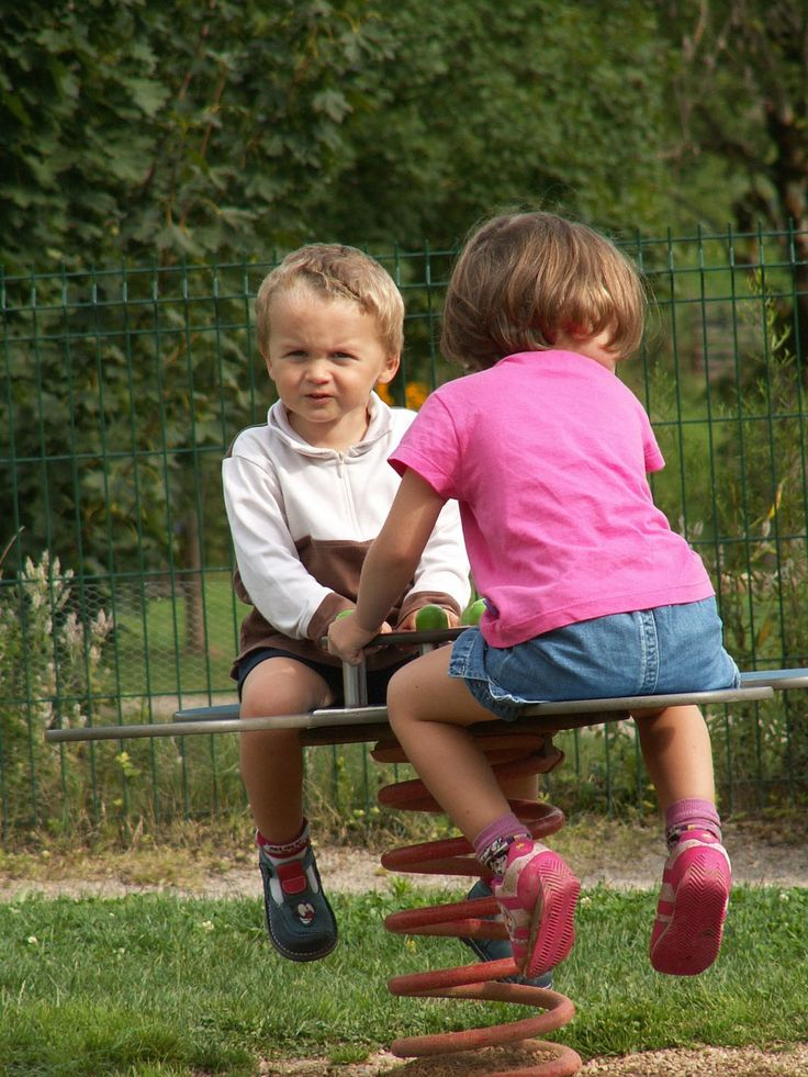 Aire de jeux pour les plus petits au Village Goelia
