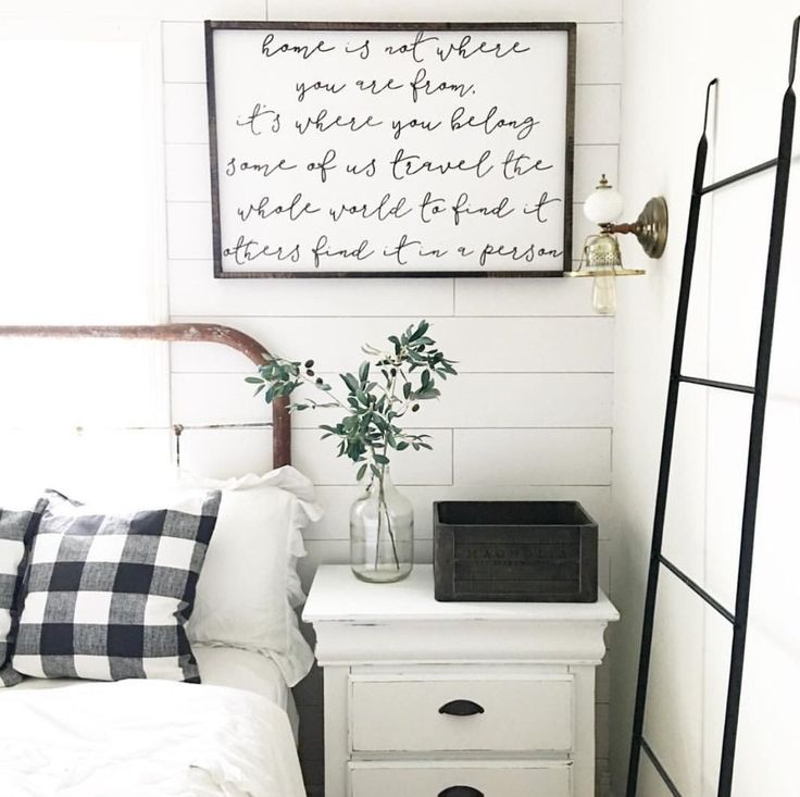 gorgeous farmhouse bedroom via sweetkentuckyholler shiplap bedroom ideas bedroom decor farmhouse