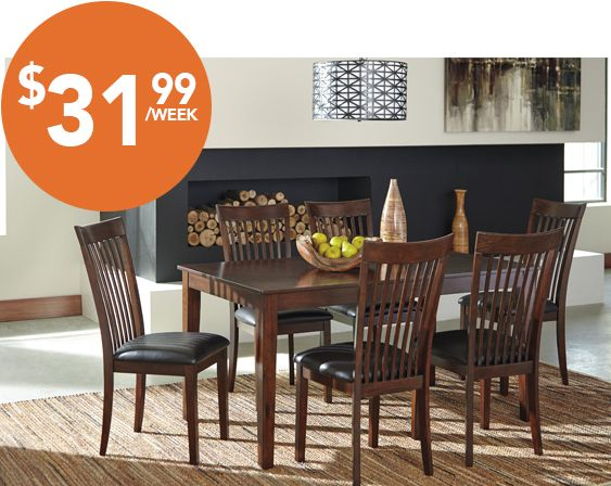 Majik Rent to Own Ashley Mallenton 7 Piece Dining Set Id D411. 1000  images about Dining on Pinterest