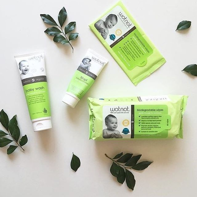 Wot's not to love about this incredible range of natural skincare for babies? We stock a bunch of awesome products from our friends, Wotnot, on our website.