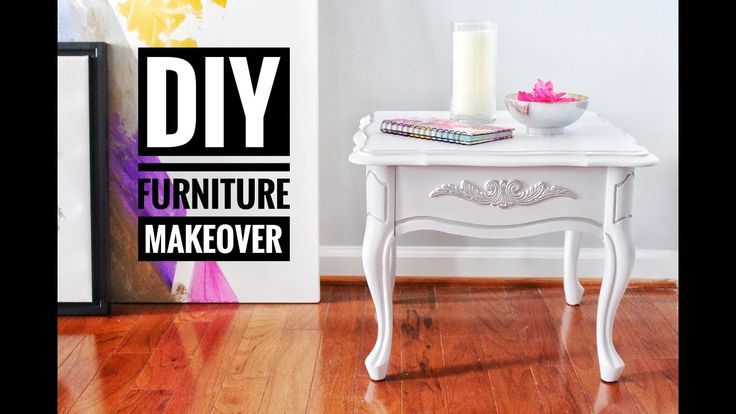 DIY | Furniture Makeover | Goodwill End Tables