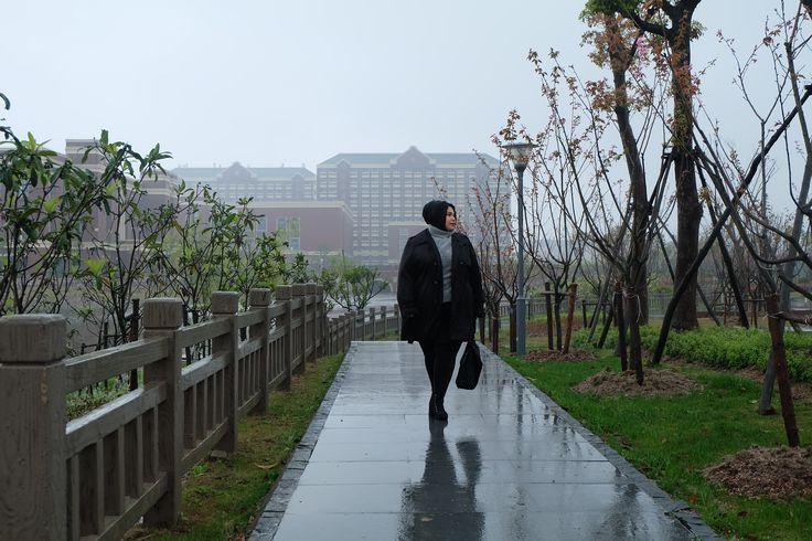 china jianqiao university (spring) hijab style