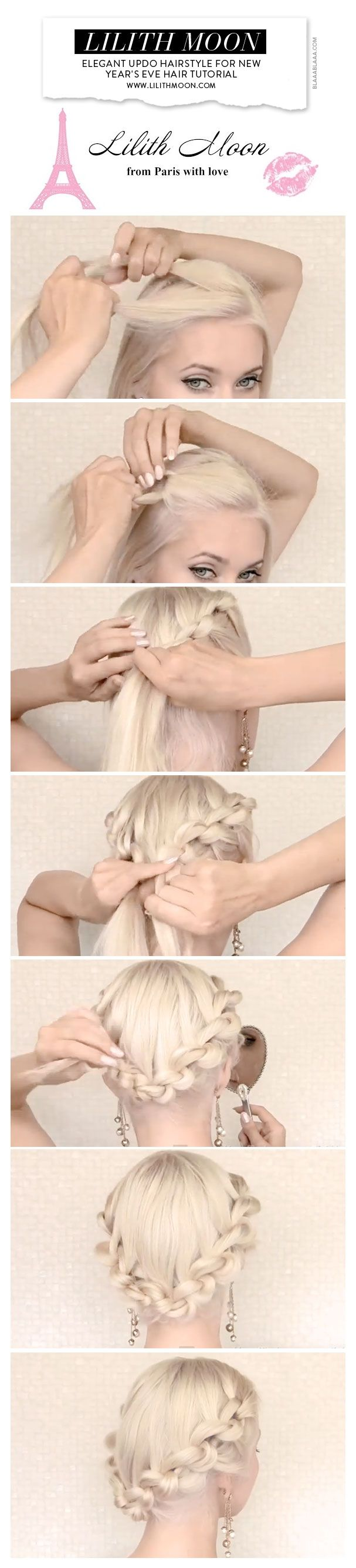 New Year's Eve Hair Tutorial by Lilith Moon