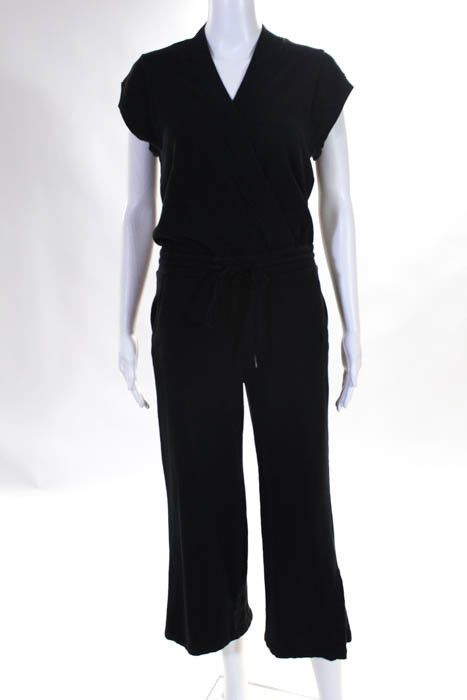 70b37cf2505 Kinly Black Cotton Sweatshirt Jumpsuit Size Extra Small  300 10997233   fashion  clothing  shoes